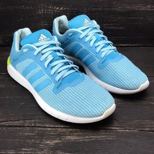 Adidas Light Blue Running Shoes Size 8